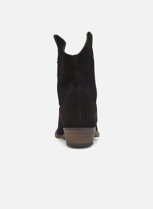 Bottines et boots Georgia Rose Acheyen Noir vue droite