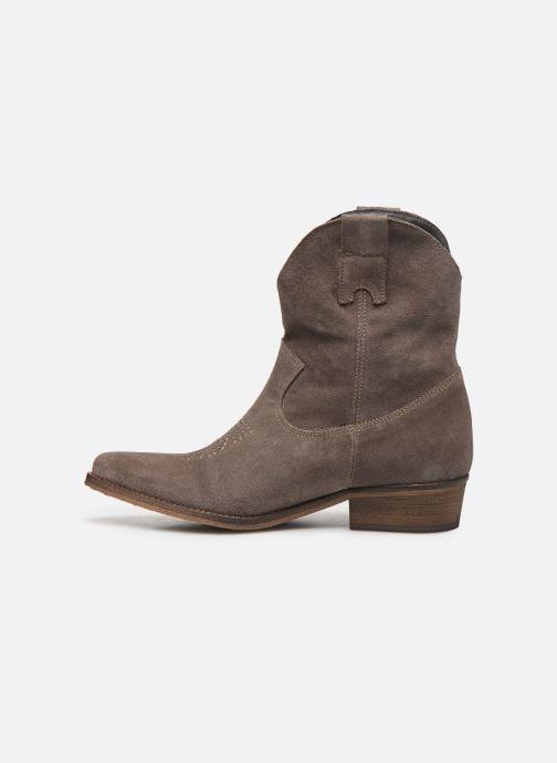 Bottines et boots Georgia Rose Acheyen Beige vue face