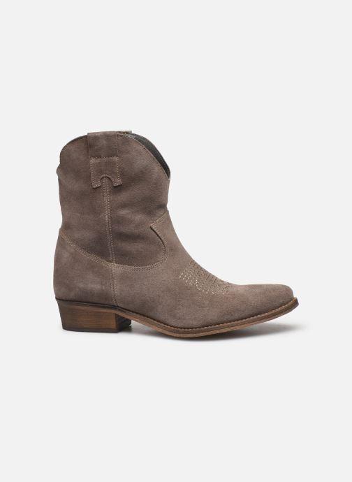 Bottines et boots Georgia Rose Acheyen Beige vue derrière