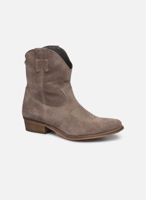 Bottines et boots Georgia Rose Acheyen Beige vue détail/paire