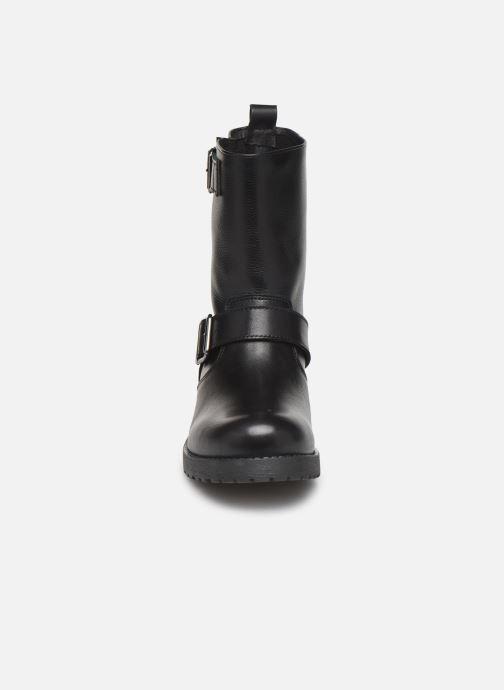 Bottines et boots Georgia Rose Amota Noir vue portées chaussures
