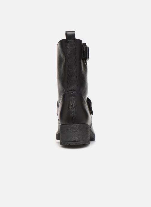 Bottines et boots Georgia Rose Amota Noir vue droite