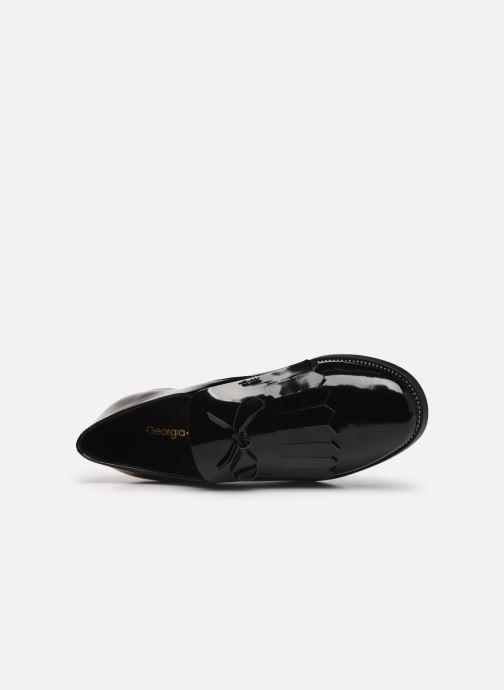Chaussures à lacets Georgia Rose Amadia Noir vue gauche