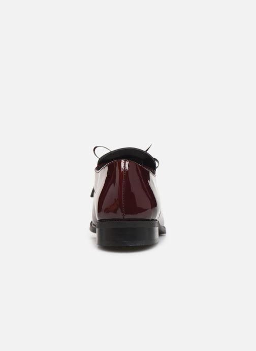 Chaussures à lacets Georgia Rose Amadia Bordeaux vue droite