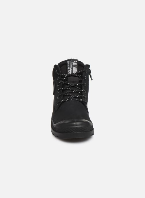 Bottines et boots Palladium Pampa Sc Outsider Wp Noir vue portées chaussures