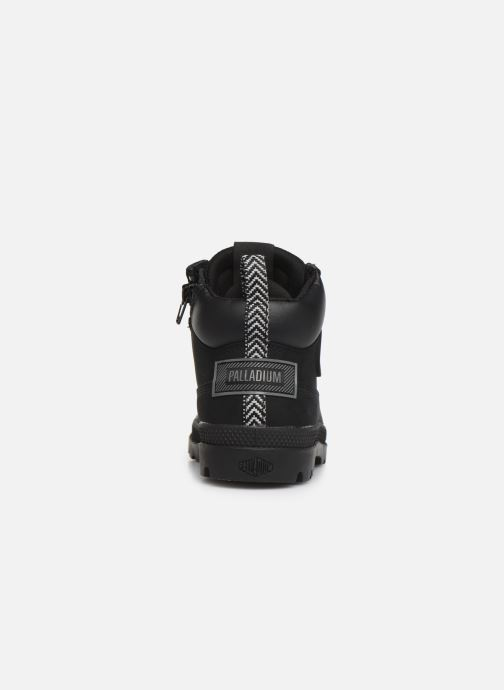 Ankle boots Palladium Pampa Sc Outsider Wp Black view from the right