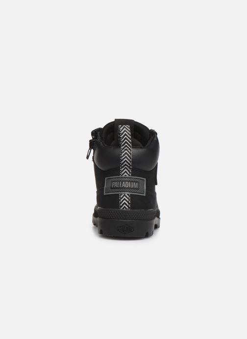 Stiefeletten & Boots Palladium Pampa Sc Outsider Wp schwarz ansicht von rechts