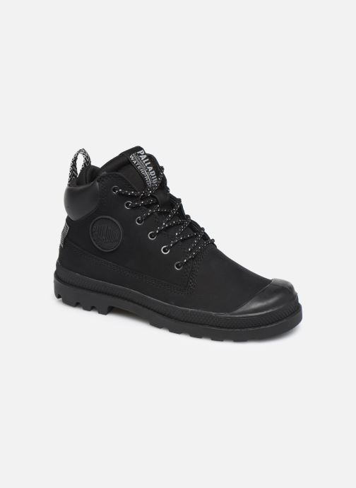 Ankle boots Palladium Pampa Sc Outsider Wp Black detailed view/ Pair view
