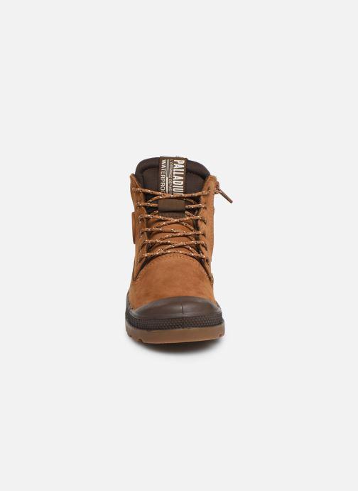 Bottines et boots Palladium Pampa Sc Outsider Wp Marron vue portées chaussures
