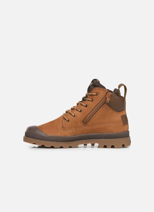 Ankle boots Palladium Pampa Sc Outsider Wp Brown front view