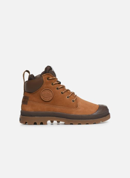 Ankle boots Palladium Pampa Sc Outsider Wp Brown back view
