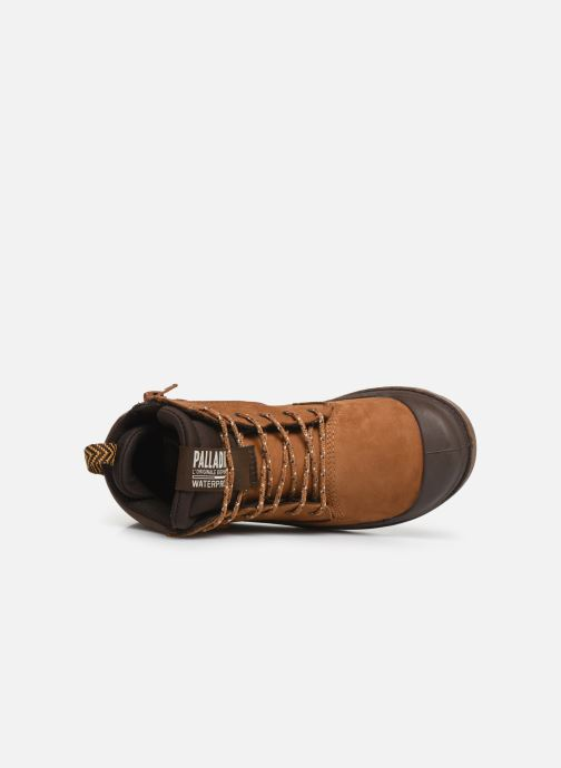 Bottines et boots Palladium Pampa Sc Outsider Wp Marron vue gauche