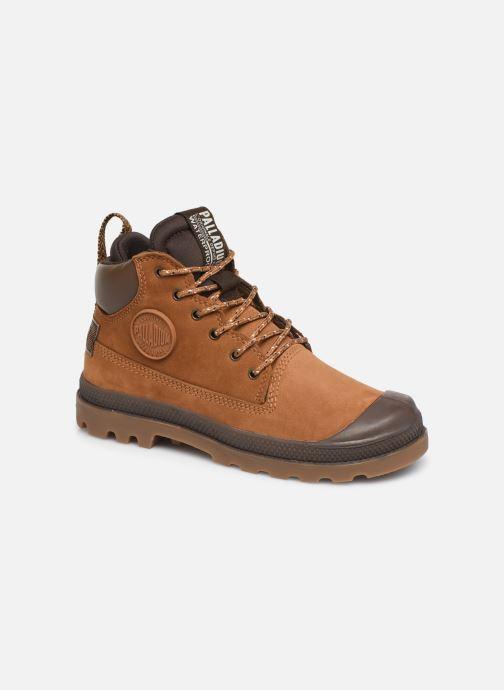 Bottines et boots Palladium Pampa Sc Outsider Wp Marron vue détail/paire