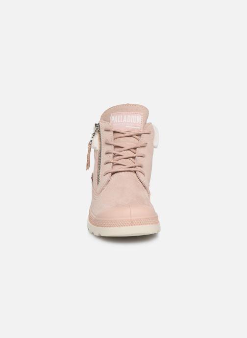 Bottines et boots Palladium Pampa Lite Moscow Rose vue portées chaussures