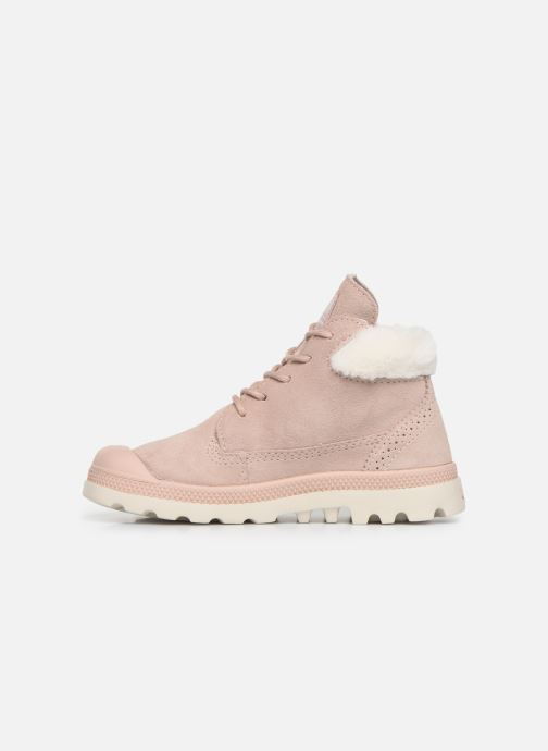 Ankle boots Palladium Pampa Lite Moscow Pink front view