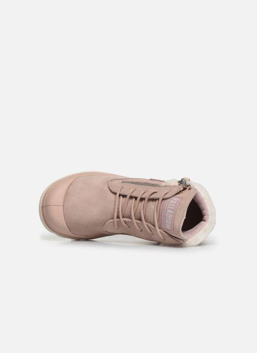 Bottines et boots Palladium Pampa Lite Moscow Rose vue gauche