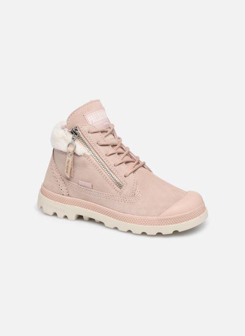 Bottines et boots Palladium Pampa Lite Moscow Rose vue détail/paire