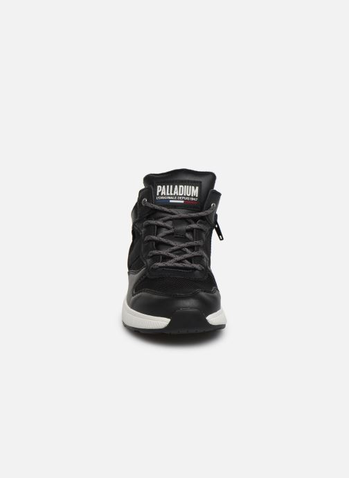 Trainers Palladium Ax_Eon Army R Mid S Black model view