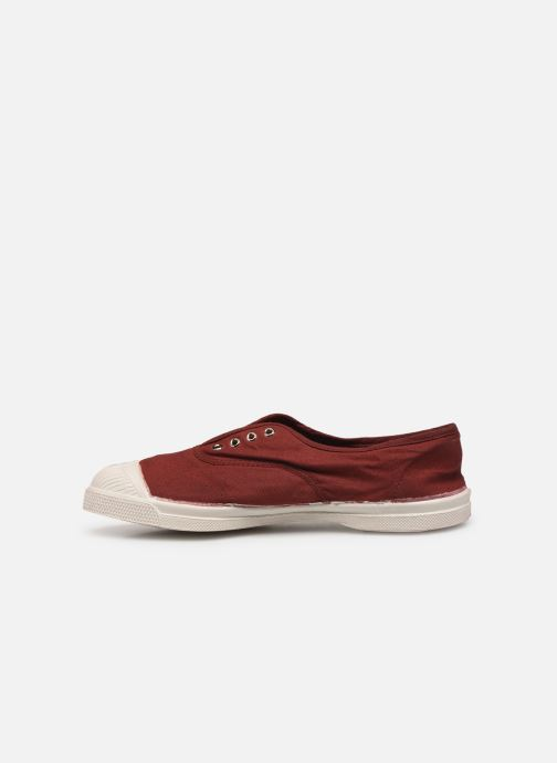 Trainers Bensimon Tennis Elly F Burgundy front view