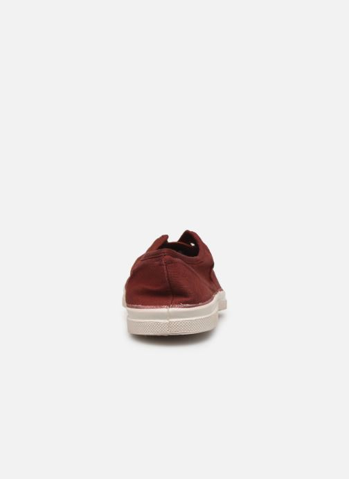 Trainers Bensimon Tennis Elly F Burgundy view from the right