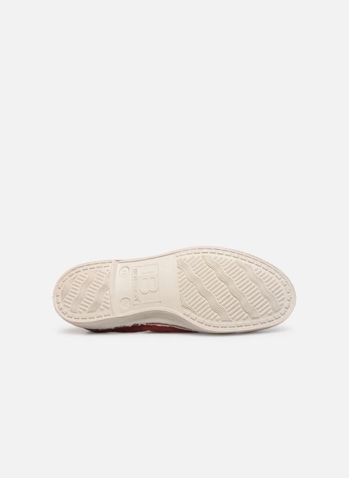 Trainers Bensimon Tennis Elly F Burgundy view from above