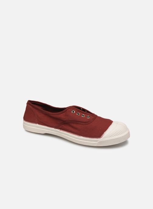 Trainers Bensimon Tennis Elly F Burgundy detailed view/ Pair view