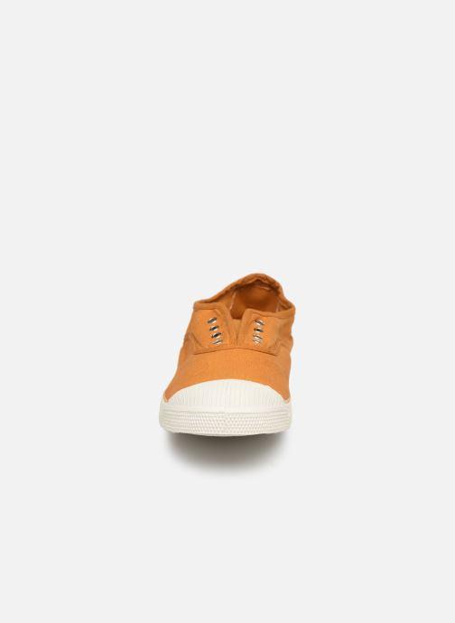 Baskets Bensimon Tennis Elly F Jaune vue portées chaussures