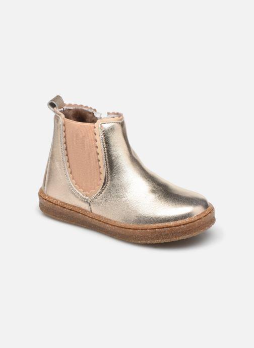 Bottines et boots Bisgaard Siggi Or et bronze vue détail/paire