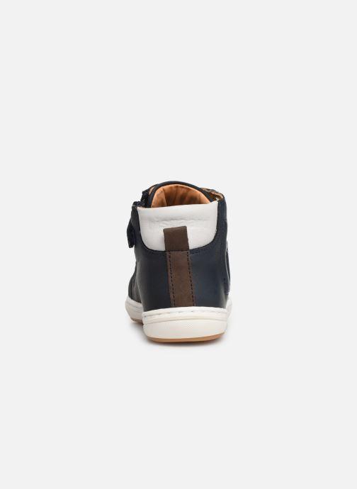 Sneaker Bisgaard Villum blau ansicht von rechts