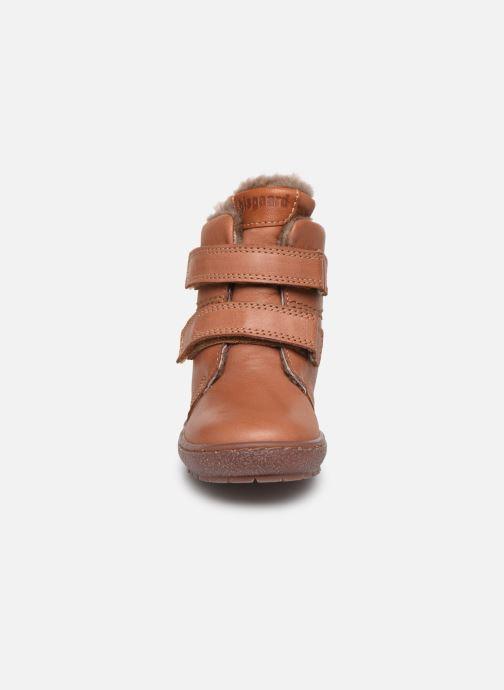 Bottes Bisgaard Storm Marron vue portées chaussures