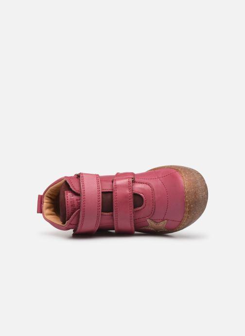 Sneaker Bisgaard Jamie rosa ansicht von links