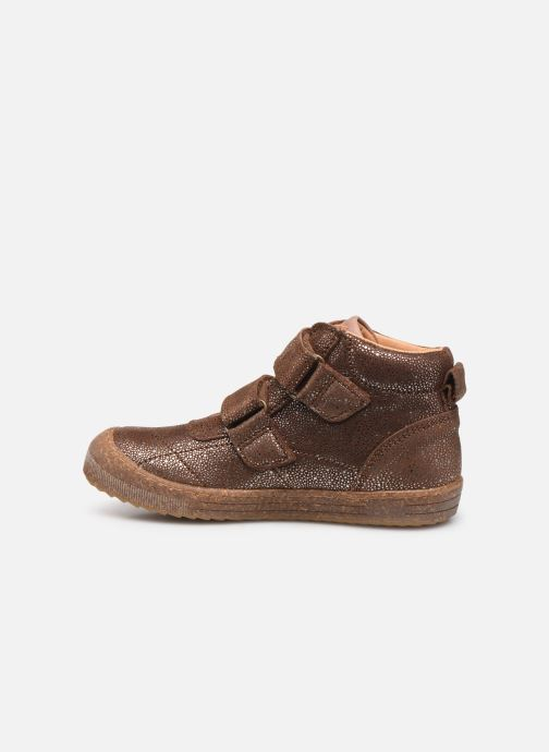 Sneakers Bisgaard Jamie Marrone immagine frontale