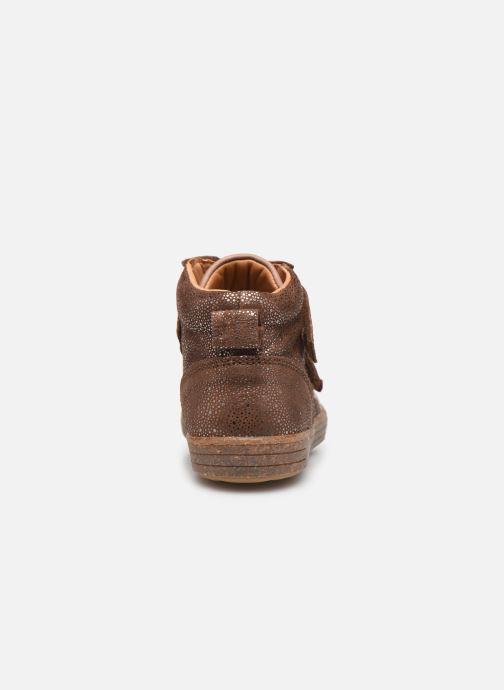 Sneakers Bisgaard Jamie Marrone immagine destra