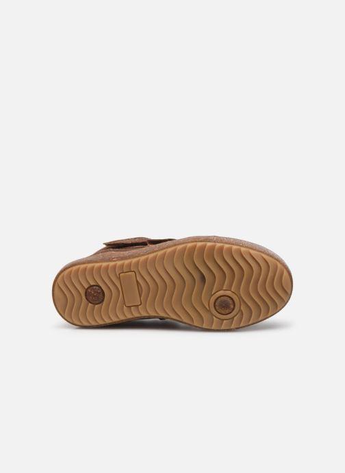 Sneakers Bisgaard Jamie Marrone immagine dall'alto