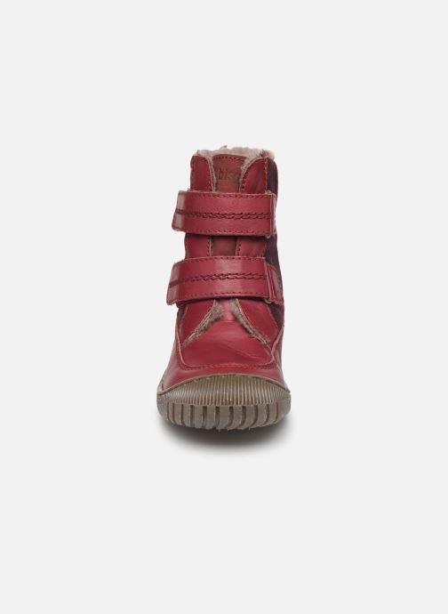 Bottes Bisgaard Ela-Tex Bordeaux vue portées chaussures