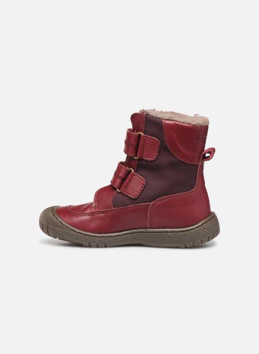 Støvler & gummistøvler Bisgaard Ela-Tex Bordeaux se forfra