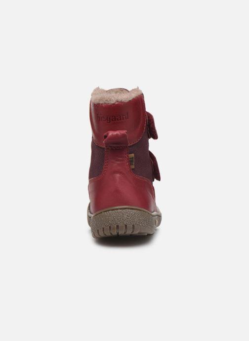 Støvler & gummistøvler Bisgaard Ela-Tex Bordeaux Se fra højre