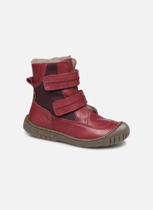 Støvler & gummistøvler Bisgaard Ela-Tex Bordeaux detaljeret billede af skoene