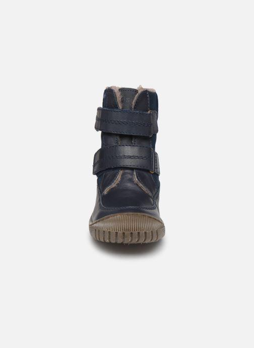 Bottes Bisgaard Ela-Tex Bleu vue portées chaussures
