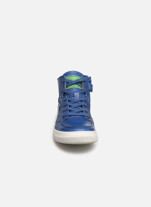 Baskets Bisgaard Isak Bleu vue portées chaussures