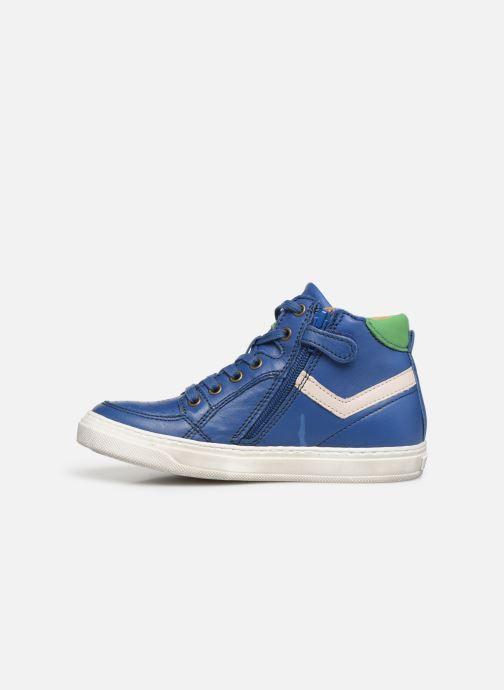 Sneaker Bisgaard Isak blau ansicht von vorne