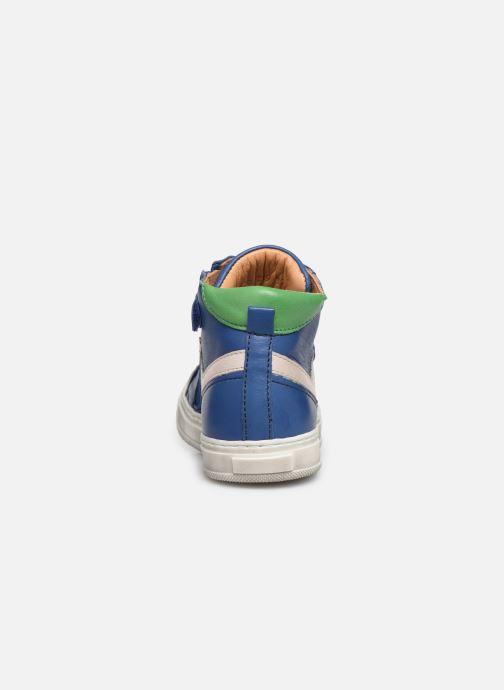 Sneaker Bisgaard Isak blau ansicht von rechts