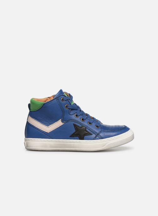 Sneaker Bisgaard Isak blau ansicht von hinten