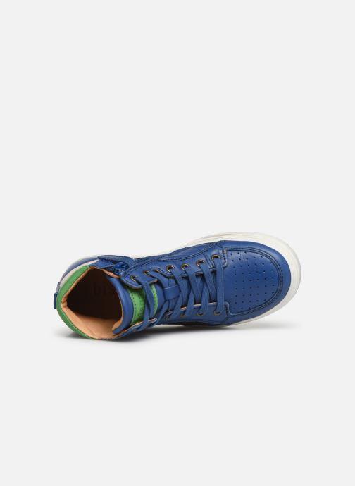 Sneaker Bisgaard Isak blau ansicht von links