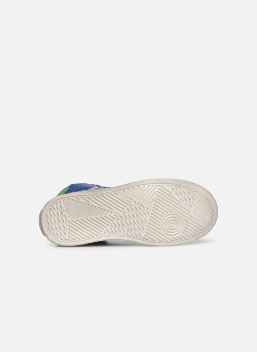 Baskets Bisgaard Isak Bleu vue haut