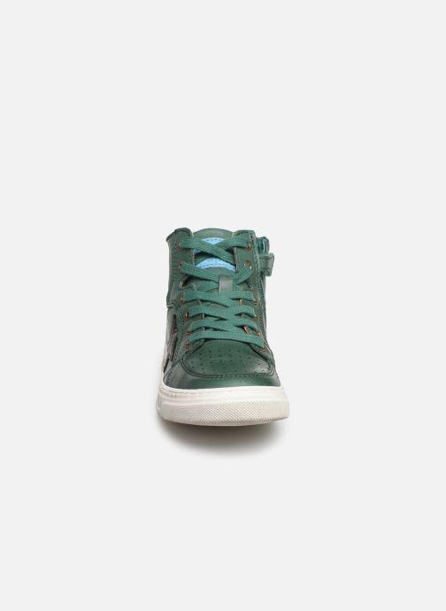 Baskets Bisgaard Isak Vert vue portées chaussures