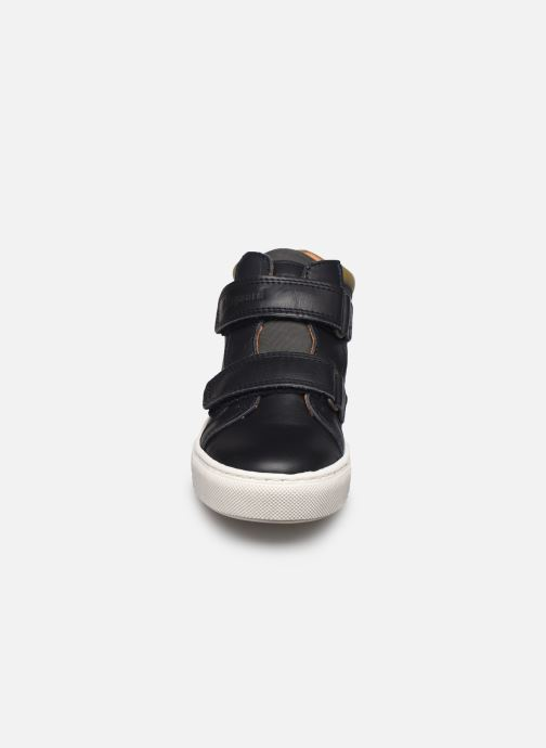 Baskets Bisgaard Jacob Bleu vue portées chaussures