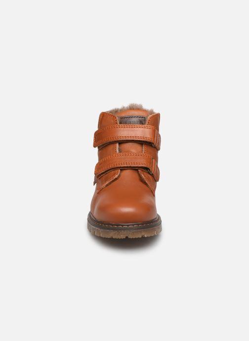 Bottines et boots Bisgaard Julius Marron vue portées chaussures