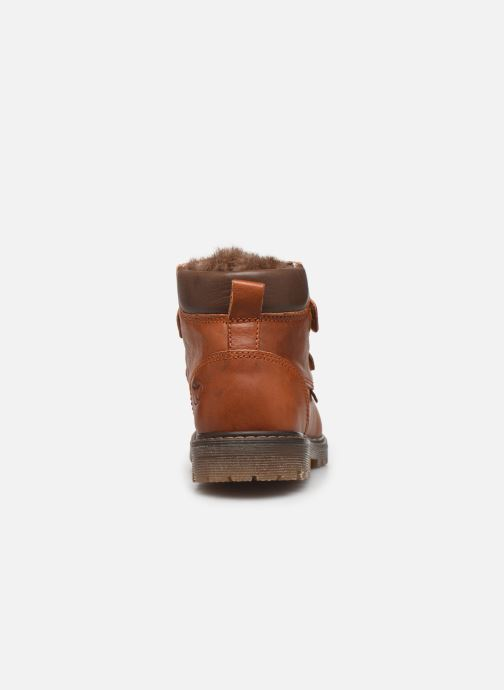 Ankle boots Bisgaard Julius Brown view from the right