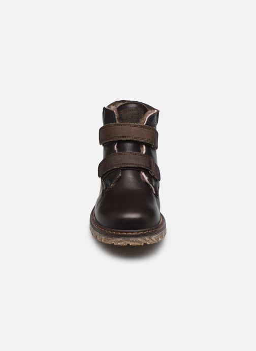 Stiefeletten & Boots Bisgaard Julius braun schuhe getragen